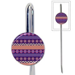 Colorful Winter Pattern Book Mark
