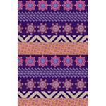 Colorful Winter Pattern 5.5  x 8.5  Notebooks Back Cover