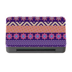 Colorful Winter Pattern Memory Card Reader with CF