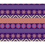 Colorful Winter Pattern Deluxe Canvas 14  x 11  14  x 11  x 1.5  Stretched Canvas