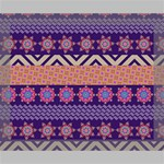 Colorful Winter Pattern Deluxe Canvas 20  x 16   20  x 16  x 1.5  Stretched Canvas