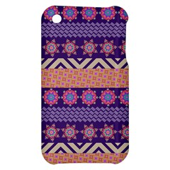 Colorful Winter Pattern Apple iPhone 3G/3GS Hardshell Case