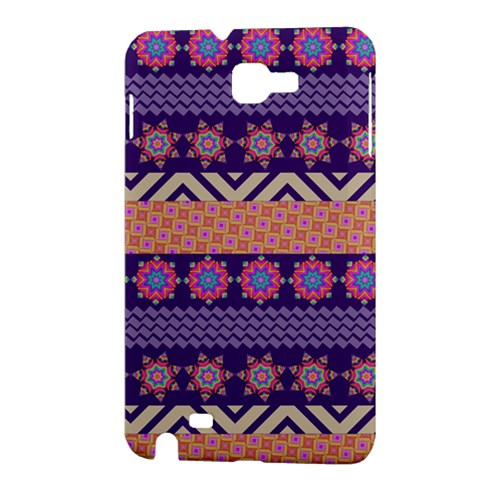 Colorful Winter Pattern Samsung Galaxy Note 1 Hardshell Case