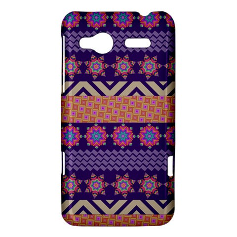 Colorful Winter Pattern HTC Radar Hardshell Case