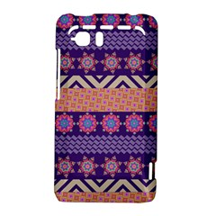 Colorful Winter Pattern HTC Vivid / Raider 4G Hardshell Case