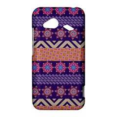 Colorful Winter Pattern HTC Droid Incredible 4G LTE Hardshell Case