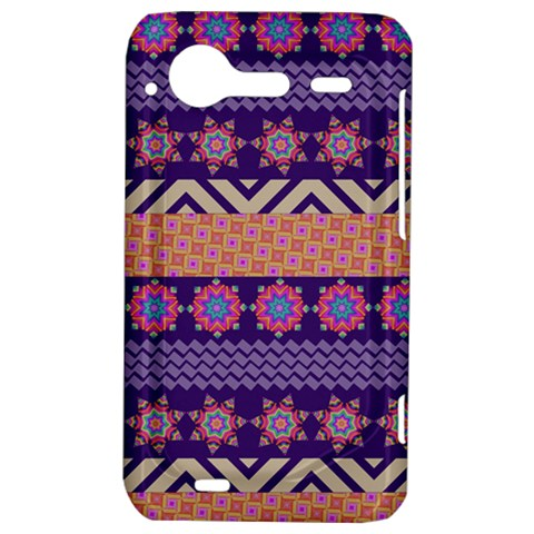 Colorful Winter Pattern HTC Incredible S Hardshell Case