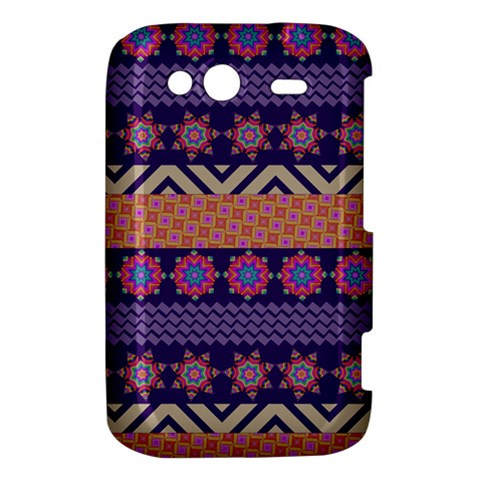 Colorful Winter Pattern HTC Wildfire S A510e Hardshell Case