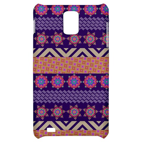 Colorful Winter Pattern Samsung Infuse 4G Hardshell Case