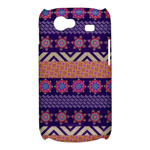 Colorful Winter Pattern Samsung Galaxy Nexus S i9020 Hardshell Case