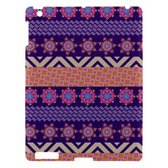 Colorful Winter Pattern Apple iPad 3/4 Hardshell Case