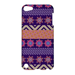 Colorful Winter Pattern Apple iPod Touch 5 Hardshell Case