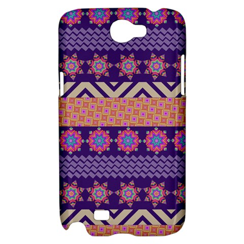 Colorful Winter Pattern Samsung Galaxy Note 2 Hardshell Case