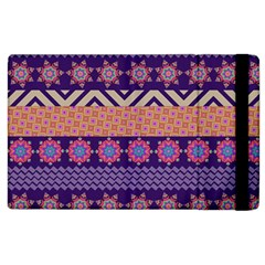 Colorful Winter Pattern Apple Ipad 3/4 Flip Case