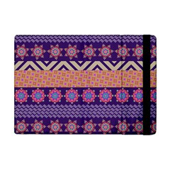Colorful Winter Pattern Apple Ipad Mini Flip Case