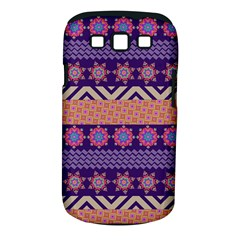 Colorful Winter Pattern Samsung Galaxy S Iii Classic Hardshell Case (pc+silicone)