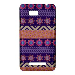 Colorful Winter Pattern HTC One SU T528W Hardshell Case