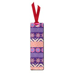 Colorful Winter Pattern Small Book Marks