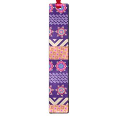 Colorful Winter Pattern Large Book Marks