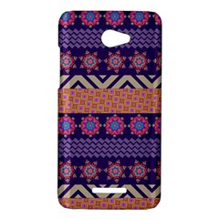 Colorful Winter Pattern HTC Butterfly X920E Hardshell Case