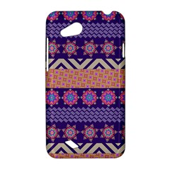 Colorful Winter Pattern HTC Desire VC (T328D) Hardshell Case