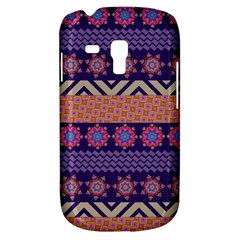 Colorful Winter Pattern Samsung Galaxy S3 MINI I8190 Hardshell Case