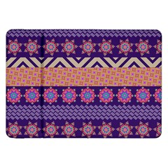 Colorful Winter Pattern Samsung Galaxy Tab 8.9  P7300 Flip Case