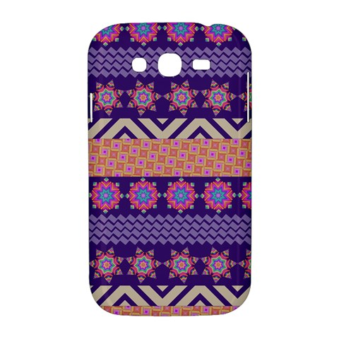 Colorful Winter Pattern Samsung Galaxy Grand DUOS I9082 Hardshell Case