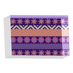 Colorful Winter Pattern 4 x 6  Acrylic Photo Blocks