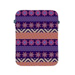 Colorful Winter Pattern Apple iPad 2/3/4 Protective Soft Cases Front