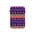 Colorful Winter Pattern Apple iPad Mini Protective Soft Cases Front