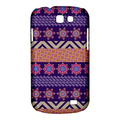 Colorful Winter Pattern Samsung Galaxy Express I8730 Hardshell Case