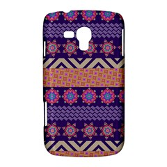 Colorful Winter Pattern Samsung Galaxy Duos I8262 Hardshell Case