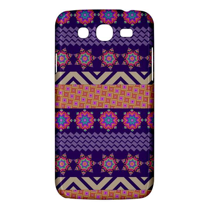 Colorful Winter Pattern Samsung Galaxy Mega 5.8 I9152 Hardshell Case