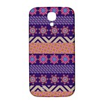 Colorful Winter Pattern Samsung Galaxy S4 I9500/I9505  Hardshell Back Case Front
