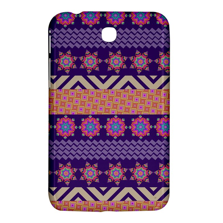 Colorful Winter Pattern Samsung Galaxy Tab 3 (7 ) P3200 Hardshell Case