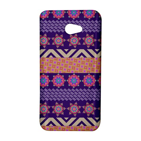 Colorful Winter Pattern HTC Butterfly S/HTC 9060 Hardshell Case
