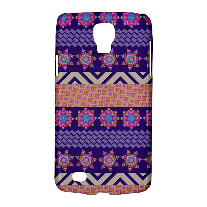 Colorful Winter Pattern Galaxy S4 Active