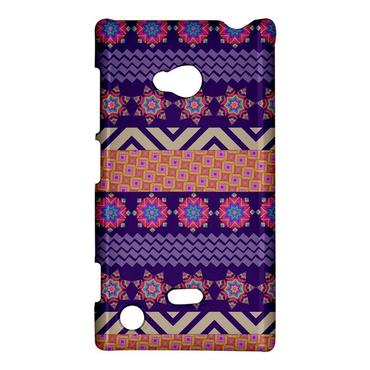 Colorful Winter Pattern Nokia Lumia 720