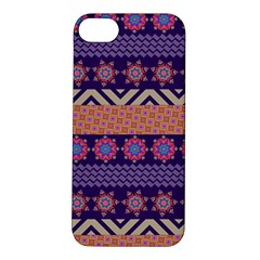 Colorful Winter Pattern Apple Iphone 5s/ Se Hardshell Case