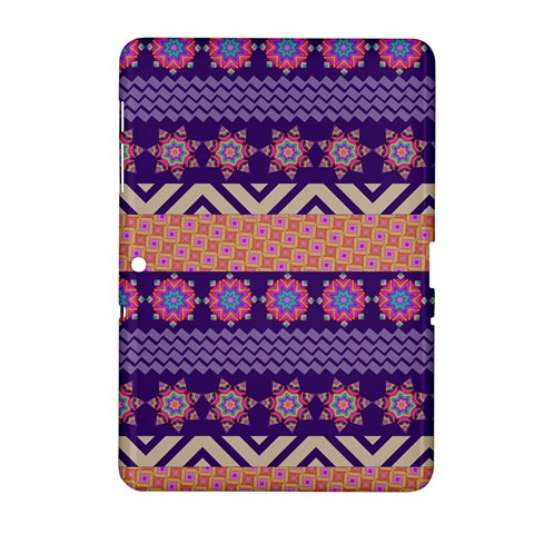 Colorful Winter Pattern Samsung Galaxy Tab 2 (10.1 ) P5100 Hardshell Case