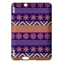 Colorful Winter Pattern Kindle Fire HDX Hardshell Case