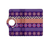 Colorful Winter Pattern Kindle Fire HD (2013) Flip 360 Case Front