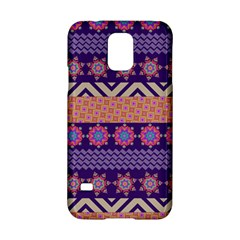Colorful Winter Pattern Samsung Galaxy S5 Hardshell Case