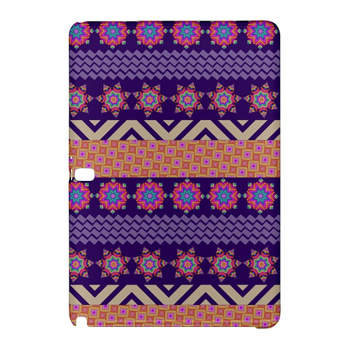 Colorful Winter Pattern Samsung Galaxy Tab Pro 10.1 Hardshell Case