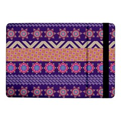 Colorful Winter Pattern Samsung Galaxy Tab Pro 10 1  Flip Case