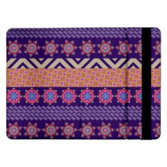 Colorful Winter Pattern Samsung Galaxy Tab Pro 12.2  Flip Case