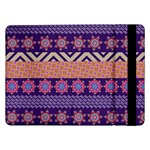 Colorful Winter Pattern Samsung Galaxy Tab Pro 12.2  Flip Case Front