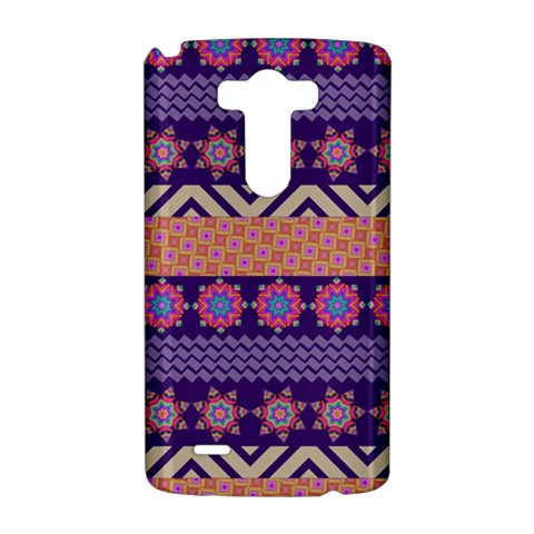 Colorful Winter Pattern LG G3 Hardshell Case