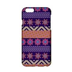 Colorful Winter Pattern Apple iPhone 6/6S Hardshell Case